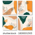 abstract exotic collection of... | Shutterstock .eps vector #1830031505