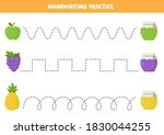 tracing lines with colorful... | Shutterstock .eps vector #1830044255