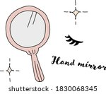 fashionable and cute...   Shutterstock .eps vector #1830068345