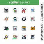 corona virus disease 16 flat... | Shutterstock .eps vector #1830068885