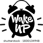 wake up hand drawn vector... | Shutterstock .eps vector #1830134948