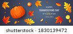 happy thanksgiving day promo... | Shutterstock .eps vector #1830139472