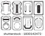 retro decorative ruled frame... | Shutterstock .eps vector #1830142472