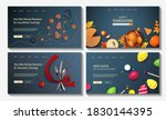 set of web page design... | Shutterstock .eps vector #1830144395