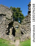 The Ruins Of Old Inverlochy...