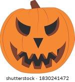 happy halloween vector scary...   Shutterstock .eps vector #1830241472