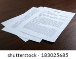 contract signing   Shutterstock . vector #183025685