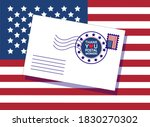 thank you united states postal... | Shutterstock .eps vector #1830270302