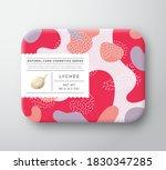 fruits bath cosmetics box.... | Shutterstock .eps vector #1830347285