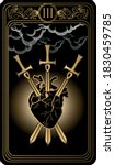 The Three Of Swords. Card Of...