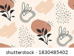 abstract nature shapes seamless ...   Shutterstock .eps vector #1830485402