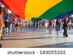 thessaloniki  greece   june 15  ...   Shutterstock . vector #183055202