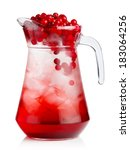 Full Jug Of Fresh Cranberries...