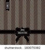 tweed seamless pattern | Shutterstock .eps vector #183070382