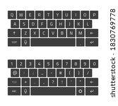 qwerty keyboard full set....