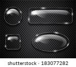 glass buttons on textured... | Shutterstock .eps vector #183077282