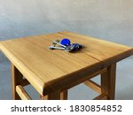 bunch of keys with house shaped ... | Shutterstock . vector #1830854852
