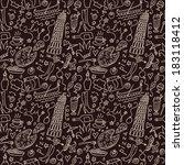 italy seamless | Shutterstock .eps vector #183118412