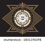 vintage design with floral frame | Shutterstock .eps vector #1831196398