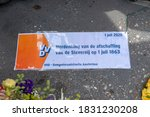Vvd Political Party Label At...