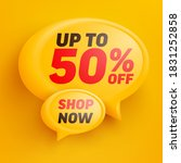 sale banner template design... | Shutterstock .eps vector #1831252858
