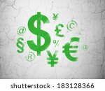 finance concept  green finance... | Shutterstock . vector #183128366