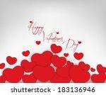 valentines day background | Shutterstock .eps vector #183136946