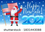 vector patriotic greeting card... | Shutterstock .eps vector #1831443088