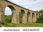 Ancient Stone Viaduct Railway...