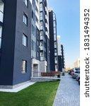 new residential building.... | Shutterstock . vector #1831494352