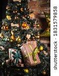 Beautiful Christmas Tree And...