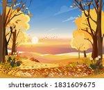 Autumn Landscape Wonderland...