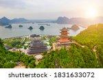 Aerial Landscape Of Tam Chuc...