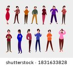 typical difficult people. flat...   Shutterstock .eps vector #1831633828