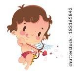 cupid | Shutterstock .eps vector #183165842