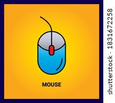 mouse thin line and pixel...