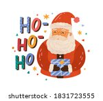 christmas greeting card with... | Shutterstock .eps vector #1831723555