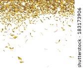 festive glittering gold...   Shutterstock .eps vector #183173906
