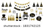 new year party celebration. new ... | Shutterstock .eps vector #1831742125