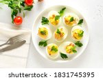 Stuffed Eggs With Egg Yolk ...