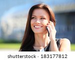 Young Businesswoman Having A...