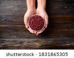 Azuki Beans Or Red Mung Bean I...