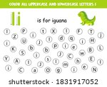 find and color all letters i.... | Shutterstock .eps vector #1831917052