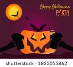 Happy Halloween Party Concept ...