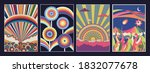 psychedelic art nature and... | Shutterstock .eps vector #1832077678