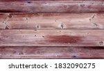 old background of brown wooden...   Shutterstock . vector #1832090275