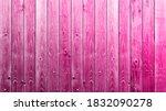 pink background wooden planks...   Shutterstock . vector #1832090278