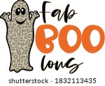 this ghost is looking fantastic ...   Shutterstock .eps vector #1832113435