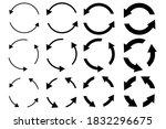 circular arrows. circular... | Shutterstock .eps vector #1832296675