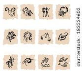 sternzeichen clip art vektor sternzeichen 59 grafiken. Black Bedroom Furniture Sets. Home Design Ideas